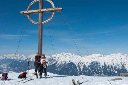 Patscherkofel-Gipfel (2246 m) von der Patscherkofel-Mittelstation