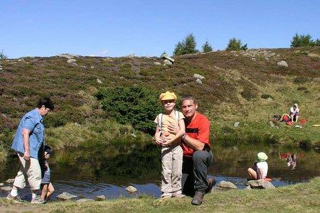 Bergsteigen mit Kindern