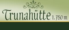 Logo Trunahütte, 1750 m - Gschnitztal