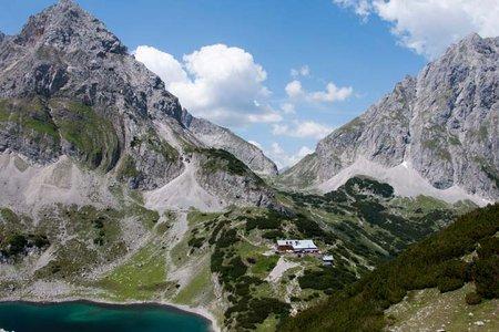 Coburger Hütte (1917 m) von Ehrwald