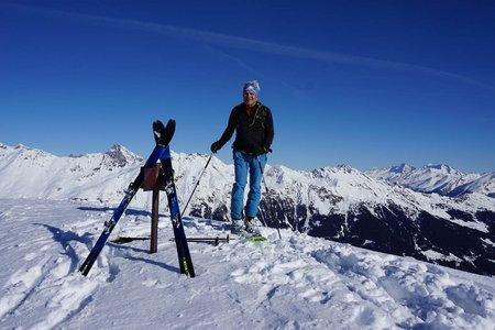 Hochspitze (2424 m) von Ridnaun