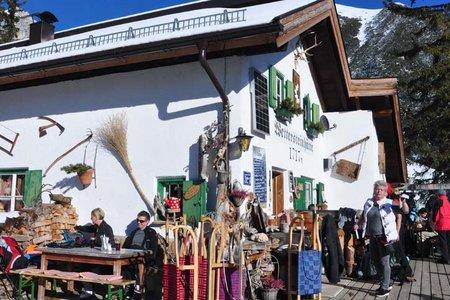 Wettersteinhütte - Naturrodelbahn