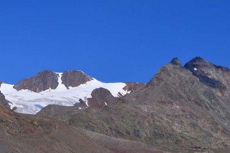 Hintergraslspitze (3325) von der Vernagthütte