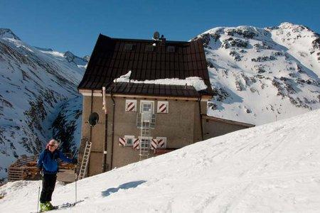 Hochjoch Hospiz (2412 m) von Vent