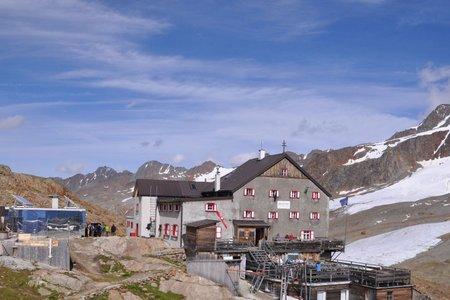 Schutzhütte Schöne Aussicht  (2842 m) von Kurzras