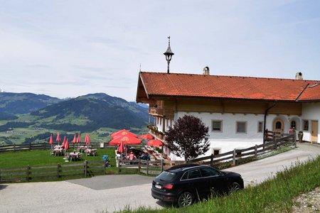 Berggasthof Tenn Rundfahrt von Hopfgarten