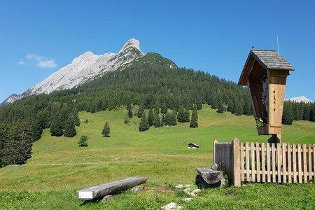3-Almen-Runde im Karwendel von Terfens