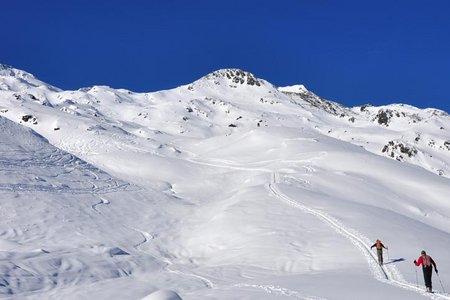 Lampsenspitze - Skitour von Praxmar