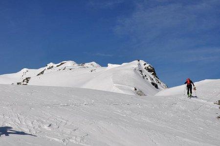 Gamskogel (2659 m) von der Kemater Alm