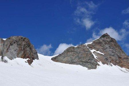 Fluchtkogel (3500 m) von der Vernagthütte