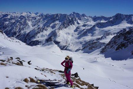 Horntaler Spitze (2813m) von Seduck