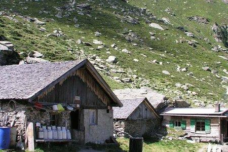 Volders - Steinkasernalm - Voldertalhütte