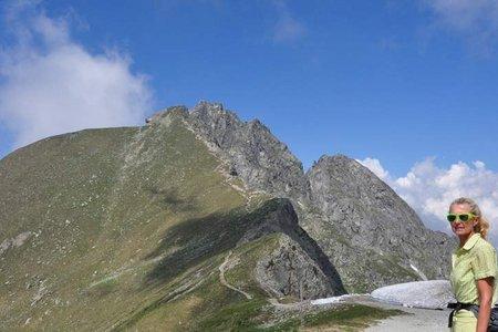 Großer und Kleiner Ifinger (2581/2552 m) vom Pfiffinger Köpfl