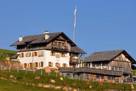 Stöffl Hütte (2057 m) vom Parkplatz Gasserhütte