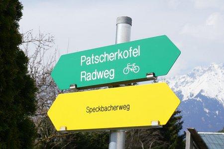 Dörfer-Rundfahrt im südlichen Mittelgebirge von Innsbruck/Amras