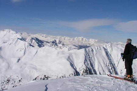 Kaserbacher Hörndl (2578 m) aus dem Schalderer Tal