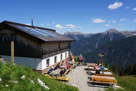 Bernhardseckhütte von Elmen