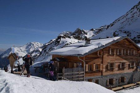 Marteller Hütte (Winterzustieg) von Hintermartell