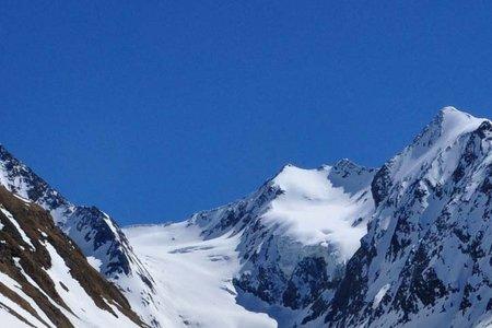 Liebener Spitze (3389 m) von der Hohe Mut/Gaisbergtal