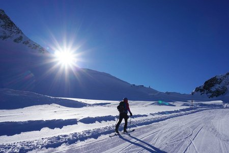 Ferner-Route im Pitztaler Skitouren Park