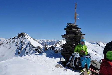 Plattenspitze (3422 m) von der Enzianhütte