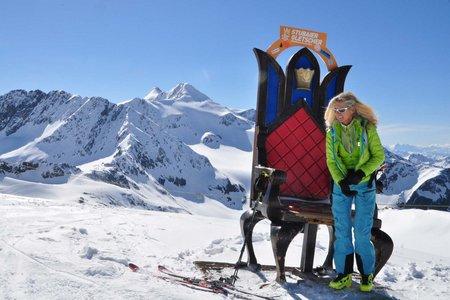 Königlich Skifahren am Stubaier Gletscher