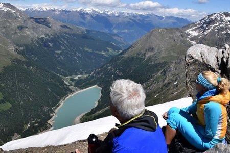 Vordere Rotspitze (3033 m) von der Zufallhütte