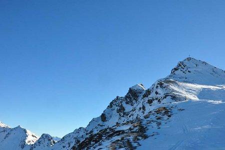 Sagtaler Spitze (2241 m) aus dem Greiter Graben