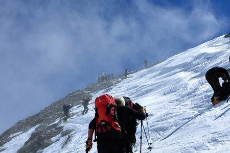 Hinterer Seelenkogel (3489 m) von der Langtalereckhütte