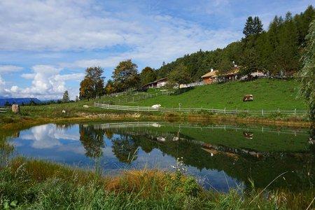Am Fleimstalbahn-Radweg zur Cisloner Alm