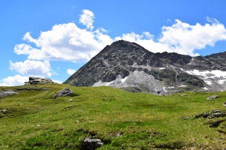 Rostocker Eck (2749 m) von der Essener Rostocker Hütte