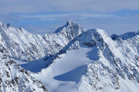 Bachfallenkopf (3060 m) von der Winnebachseehütte