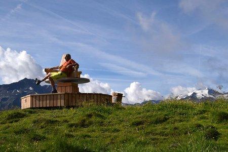 Naturschauplatz Hühnerspiel (2181 m) von Krössbach/Oberegg