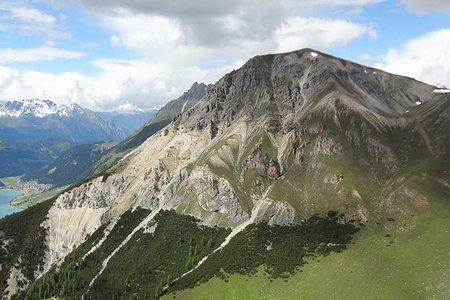 Endkopf (2627 m) von Graun