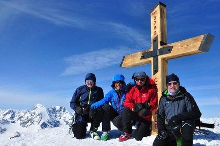 Monte Cevedale (3769 m) von der Marteller Hütte