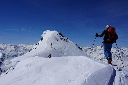 Warenkarseitenspitze (3347m) von der Amberger Hütte