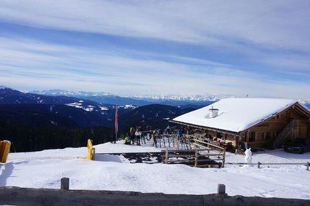 Winterwanderweg Almhütte Messnerjoch