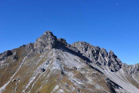 Hoher Burgstall (2611 m) vom Kreuzjoch