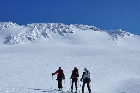 Cima Marmotta-Köllkuppe (3330 m) von der Zufallhütte