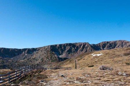 Villanderer Berg (2509 m) von der Stöffl Hütte