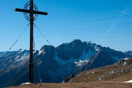 Sinnesjoch (2273 m) von Sinnesbrunn