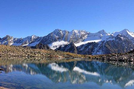 Rinnensee (2646m) von der Franz Senn Hütte