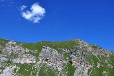 Foppmandl (2412 m) vom Padasterjochhaus