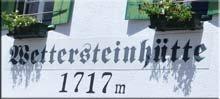 Logo Wettersteinhütte, 1717 m - Leutasch
