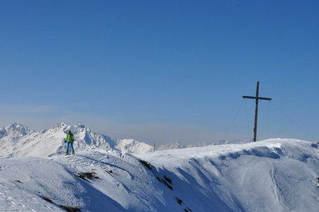 Glanderspitze (2512 m) von Piller