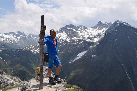 Weisse Wand (2517 m) aus dem Knuttental