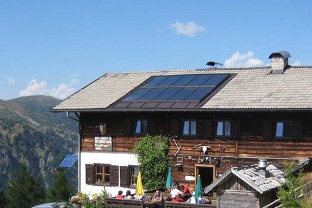 Enzianhütte (1894 m) vom Brennerbad