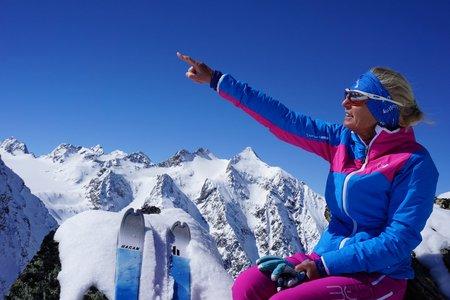 Horntaler Spitze (2813m) von der Franz Senn Hütte