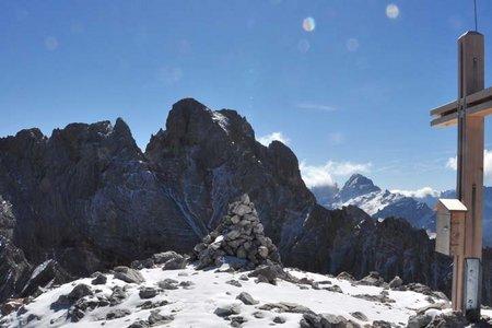 Kleine Gaisl (2859 m) von der Senneshütte