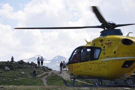 Notfälle im Gebirge